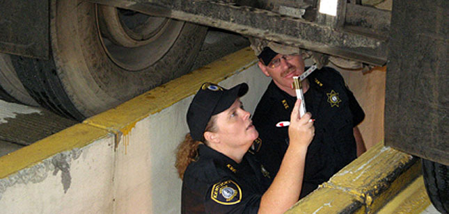 Kentucky State Police participate in last year's Operation Air Brake.