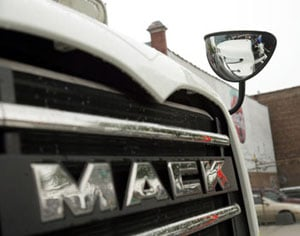 A New York state law requiring crossover mirrors will go into effect Friday, Jan. 13.