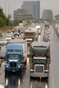 Without infrastructure reform, highways will become ever more congested. (Photo courtesy Michelin)
