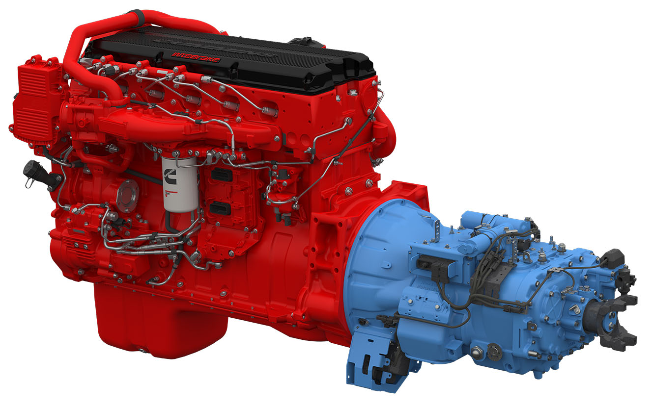 Cummins, Eaton to Offer Integrated 'Powertrain Package'