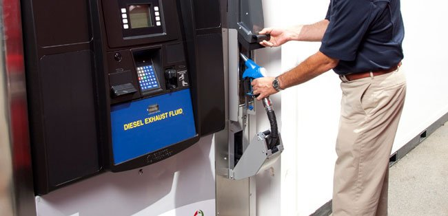 At issue is the question of keeping diesel exhaust fluid in the tank for proper functioning of selective catalytic reduction.