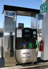 The average U.S. DEF pump price rose seven cents to $2.81 per gallon between April and May, according to DEF Tracker.