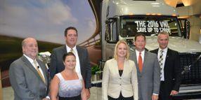 Volvo Trucks Honors 2014 Safety Award Winners