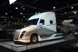Daimler Achieves 115% Efficiency Improvement with SuperTruck