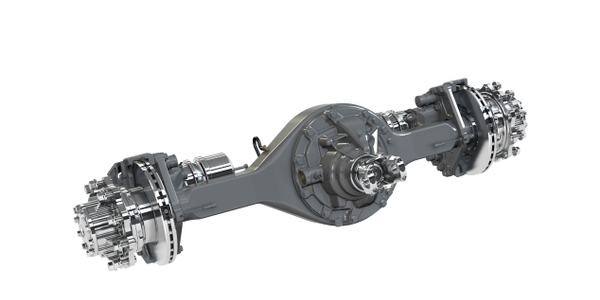 Dana introduced its new Spicer S172 series single drive axle. Photo: Dana