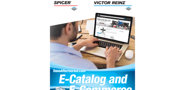 Dana has updated its DanaAftermarket.com e-catalog and e-commerce platform. Image: Dana