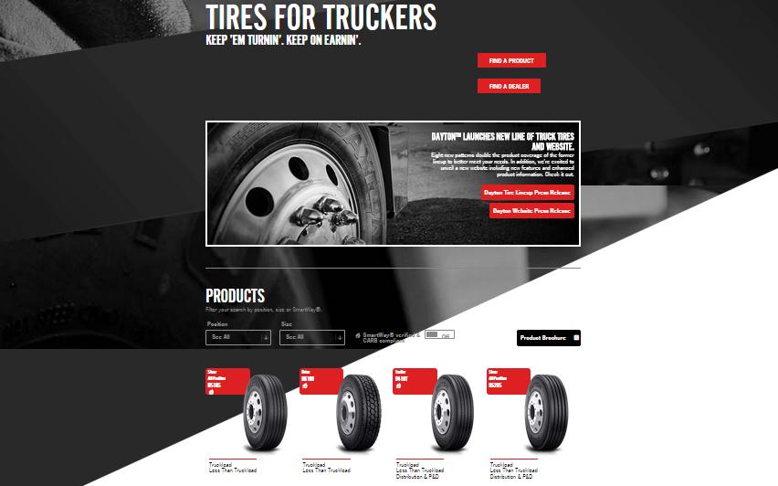 Bridgestone Unveils Dayton Commercial Tire Website