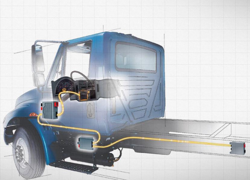 International Upgrades Truck and Body Electronics