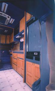 Double Eagle has made custom sleeper berths since 1976.