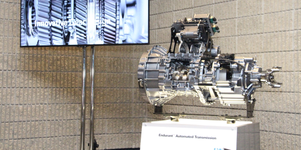 The Eaton Cummins Endurant as unveiled at the North American Commercial Vehicle Show. Photo:...
