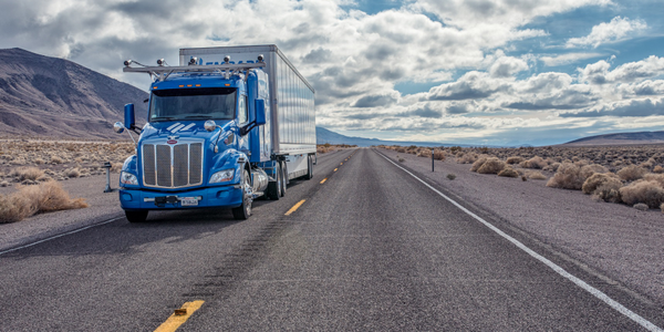 Embark's self-driving truck just completed a five-day, 2,400-mile journey across the U.S. Photo:...