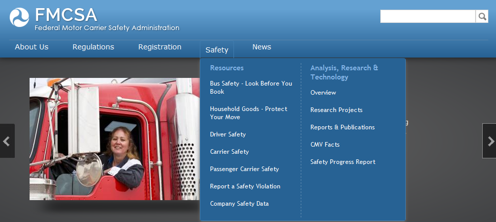 FMCSA Removes CSA Data from Public View