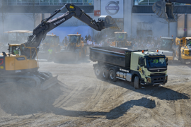 World's Biggest Construction Show Features Vocational Trucks