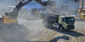 World's Biggest Construction Show Features Vocational Trucks