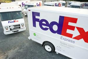 FedEx said its FedEx Express segment reported revenue of $5.88 billion, a 23 percent boost from last year's $4.80 billion.