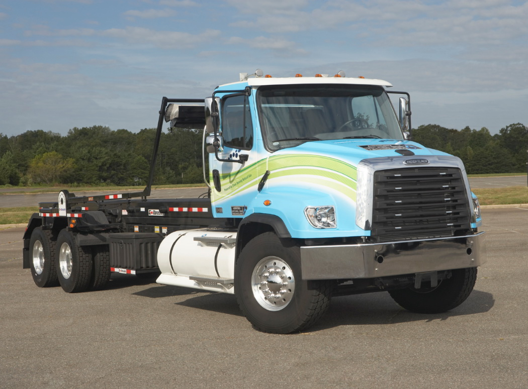 Freightliner Adds 12-Liter Natural Gas Power to 114SD Severe-Duty Model