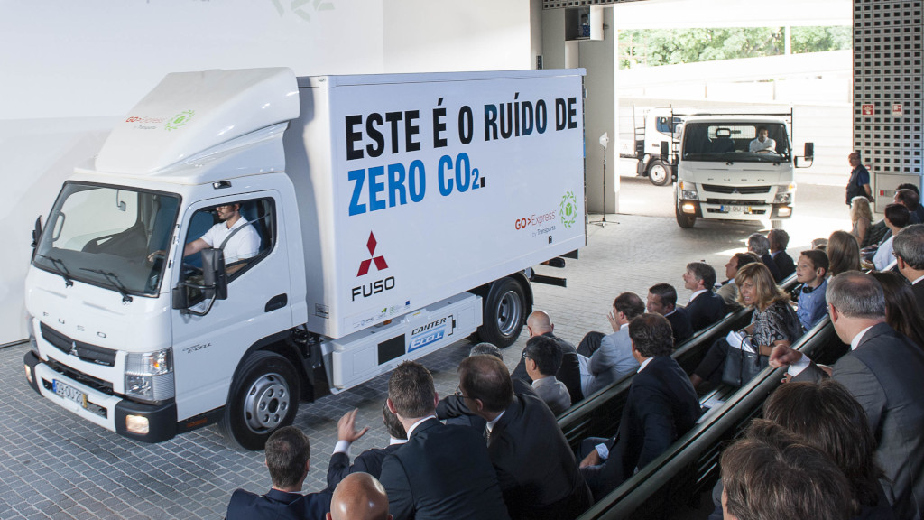 Electric Fuso Canter Trucks Complete Year-Long Trial