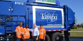 Tampa Beefs Up CNG Refuse Fleet
