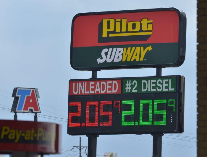 Diesel Prices Near $2.40 Per Gallon