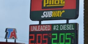 Diesel Prices Fall for Second Week in a Row