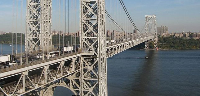 Tolls will be going up on the George Washington Bridge. (Photo by John O'Connell.)