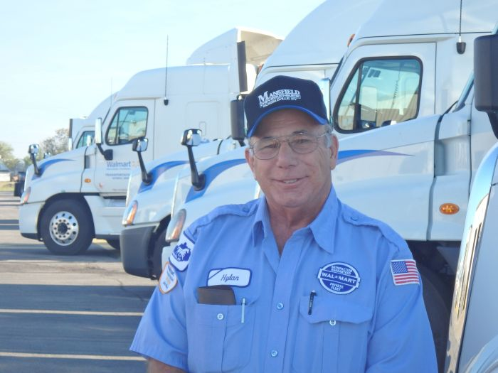 Walmart Trucker Named National Driver of the Year
