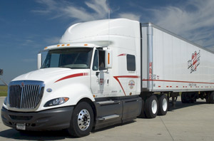 Despite a tough first quarter, Heartland Express said it has seen some promising signs of life.