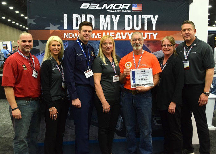 Veteran Who Transitioned to Trucking Wins Free Trip To MATS