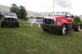 Symbolic First 2016 F-650/750 Shown at Ohio Plant