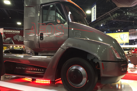 Meritor CEO Predicts Electrified Future
