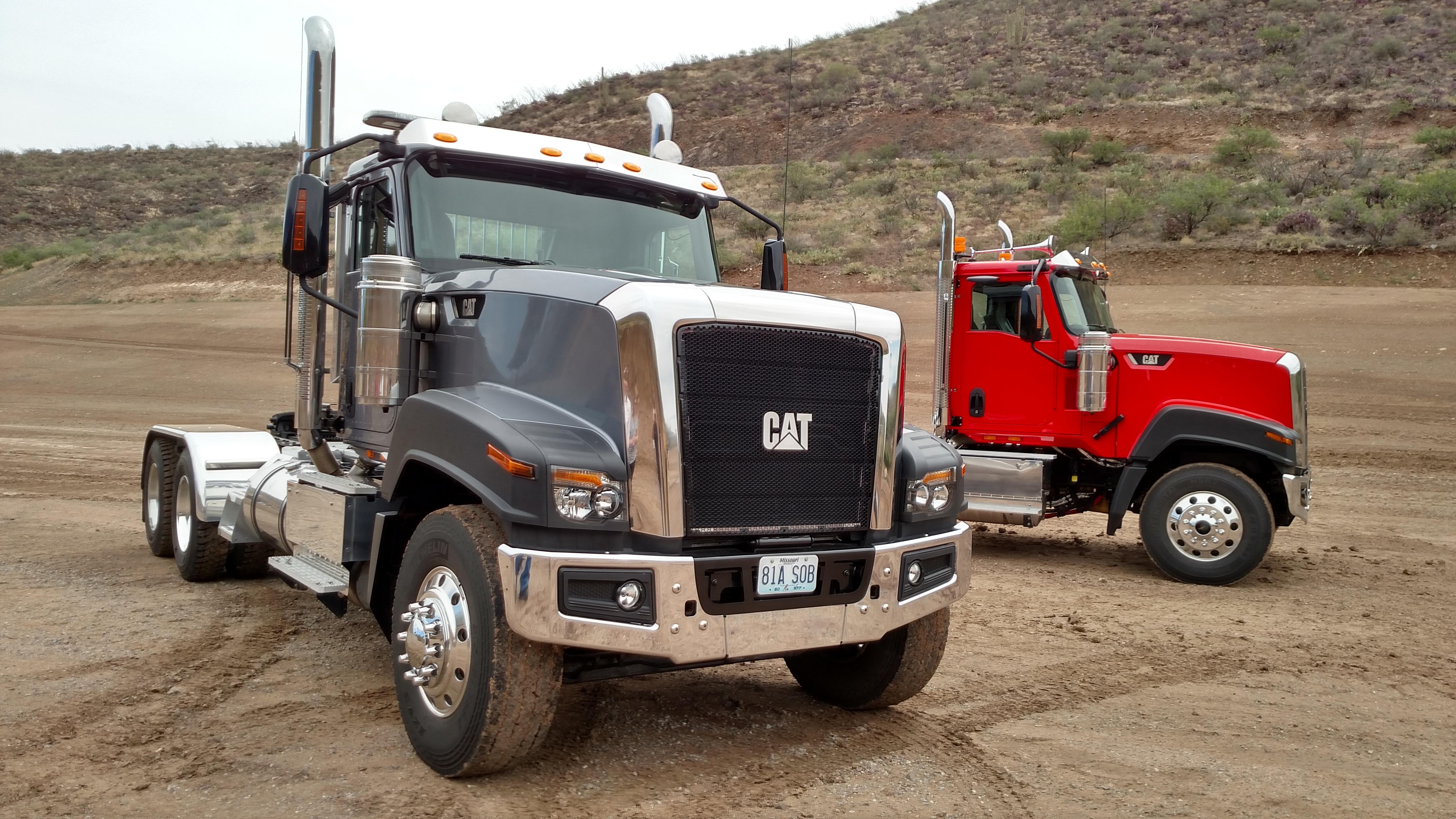 Cat to Split with Navistar, Build Own Vocational Trucks