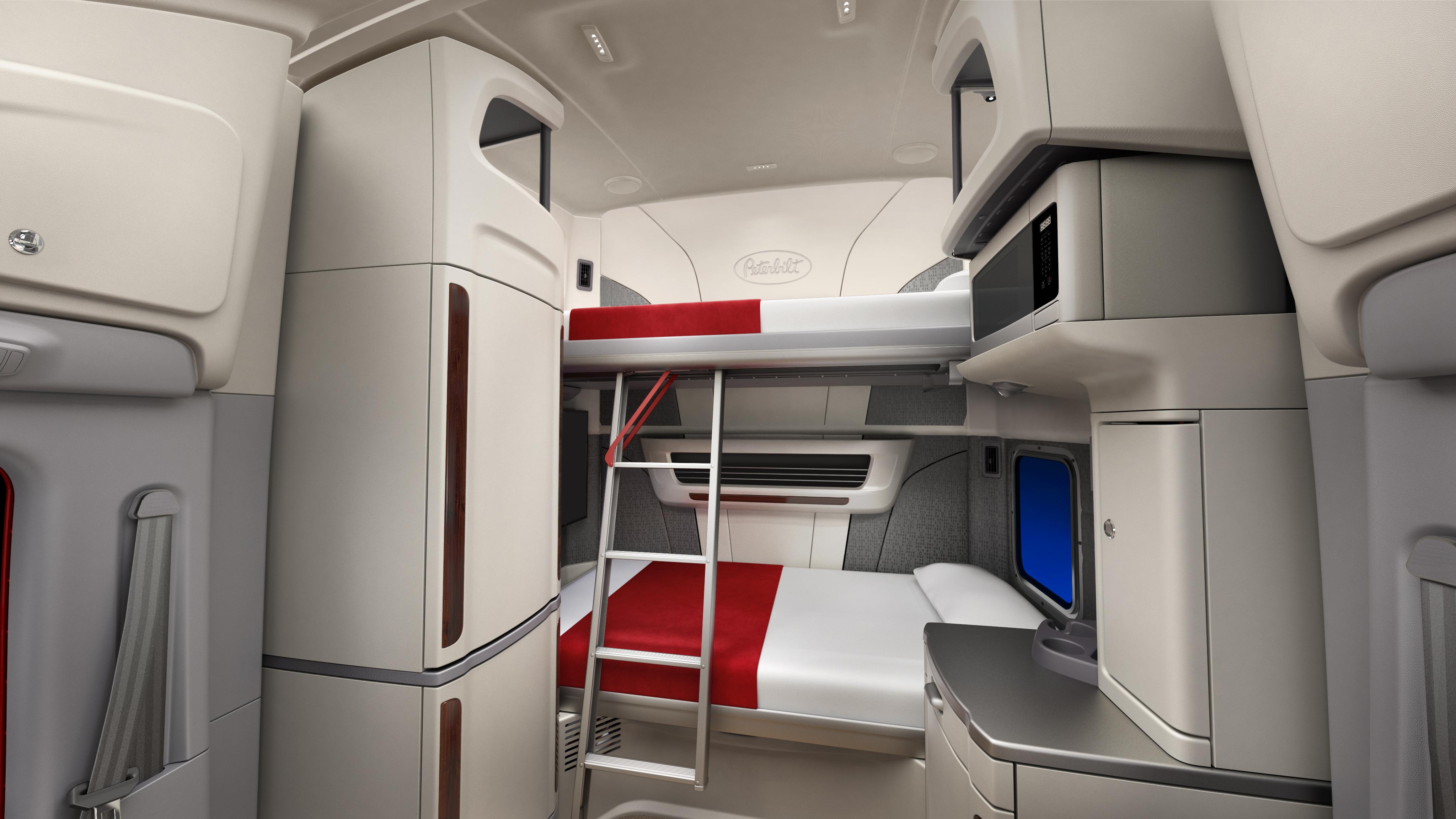 Peterbilt Unveils Model 579 UltraLoft Integrated Sleeper Truck