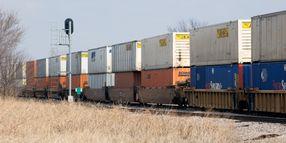 Rail Freight Weakens But Intermodal Grows