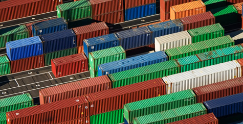 In March, import cargo volume is expected to gain 13 percent over the same month of 2009.