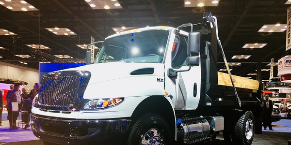 The International MV Series is a new Class 6/7 truck designedto be easily upfitted. Photo:...