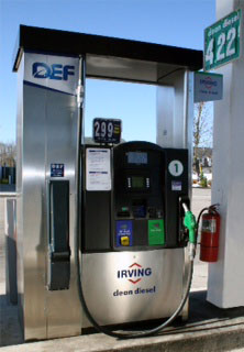 Irving Oil in Kittery, Maine offers the only DEF pump in Northern New England, which is made up of Maine, Vermont and New Hampshire.