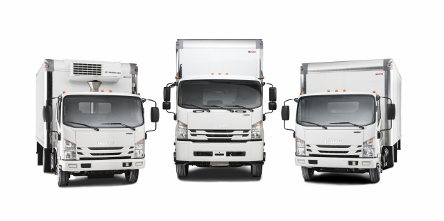 Isuzu FTR Named Medium-Duty Truck of the Year