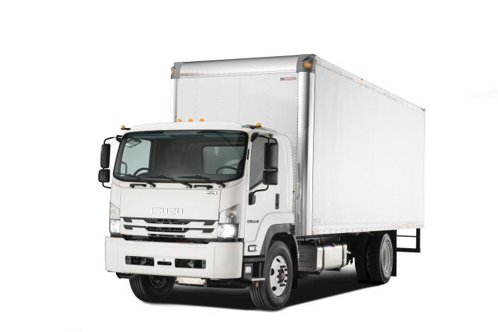 Isuzu Adds Class 6 Truck with 4-Cylinder Diesel