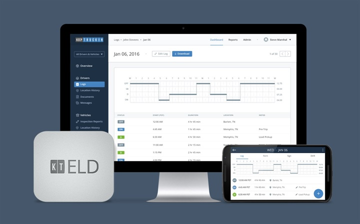 Apex Capital Partners With KeepTruckin to Offer ELD Solution