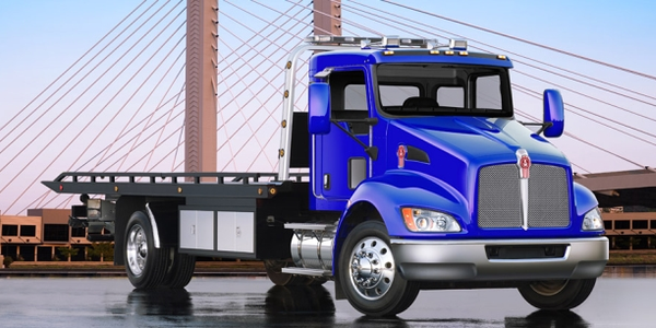 The Kenworth T370 is just one of many vocationa trucks Kenworth offers fleets. (Image courtesy...