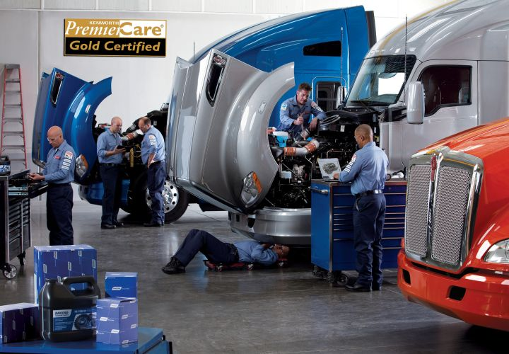 Kenworth Offers Two-Hour Truck Repair Diagnosis