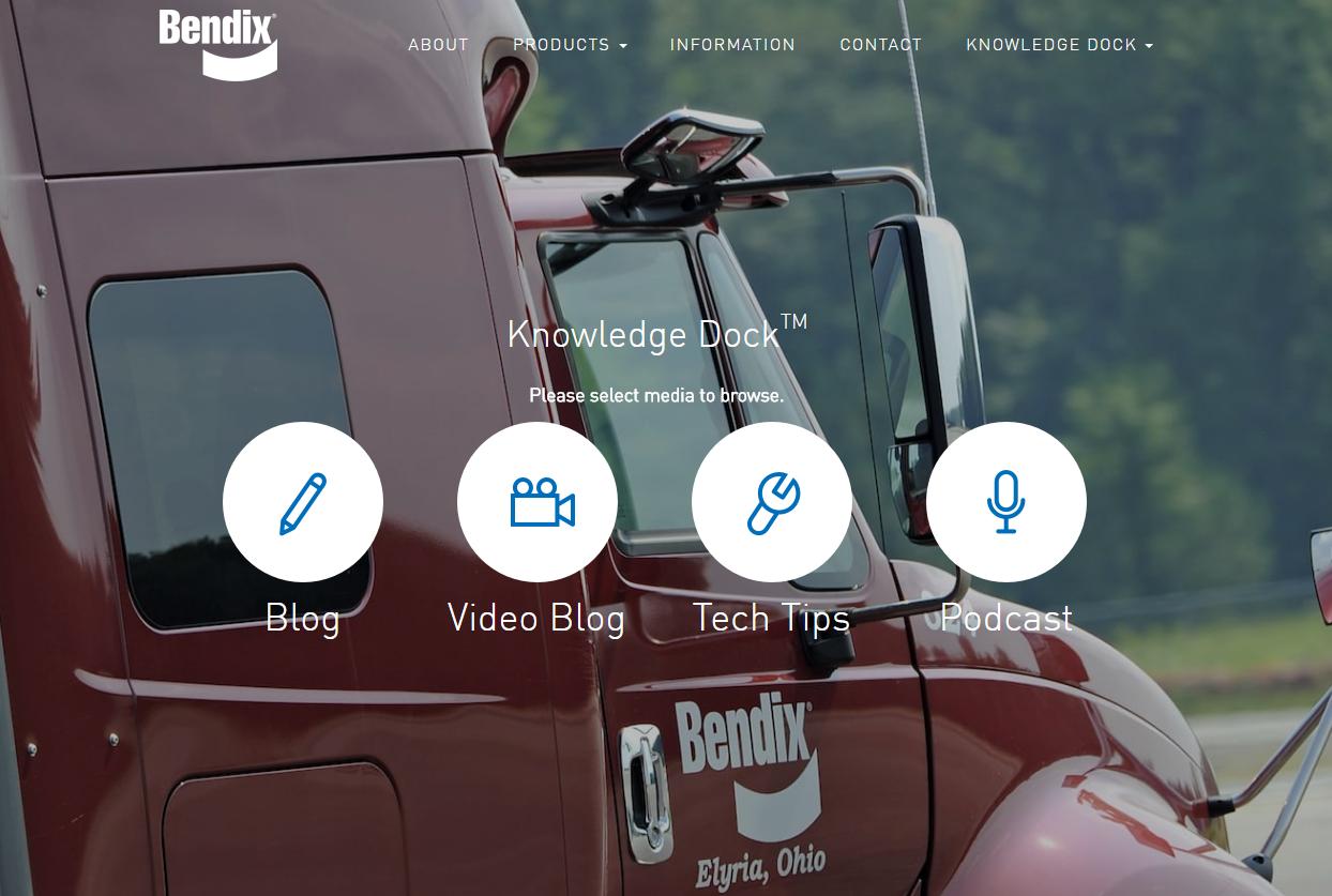 Bendix Launches Online Trucking Industry Resource