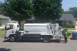 Los Angeles Completes Battery-Electric Refuse Truck Demo