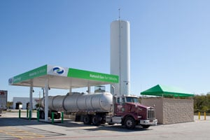 Clean Energy Opens LNG Fueling Station in Seville, Ohio