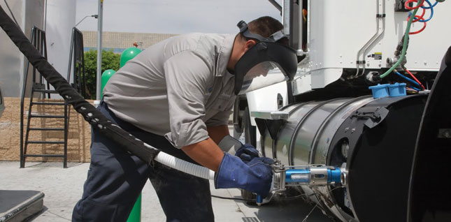 The proposed plans include constructing more than 200 LNG fuel lanes at about 100 TA and Petro locations throughout the country.