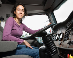 Until freight picks back up, drivers will likely stay put. (Photo courtesy of MTS Driver Recruiters)