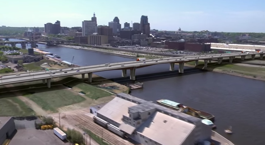 Interstate 94 in St. Paul Closing for Bridge Work