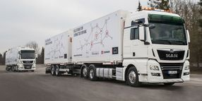 Real-World Truck Platooning Test with Real Truck Drivers