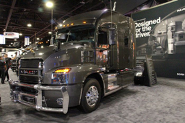 Mack Cites Positive Trends And Sales Figures at NACV