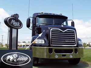 Mack Debuts First Pinnacle Model at Macungie